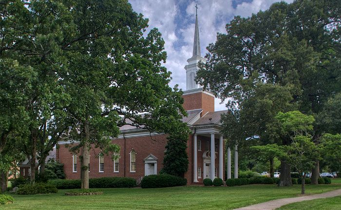 Jones Chapel, Meredith College, North Carolina