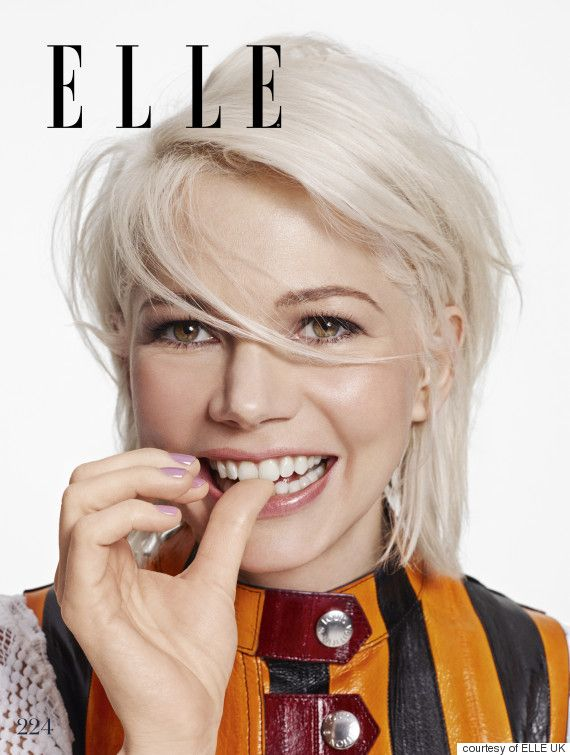 Damn, Michelle Williams Looks GOOD On The April Cover Of Elle UK