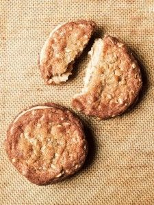 The Dahlia Bakery's PEANUT BUTTER SANDWICH COOKIES - the recipe only uses 227 grams of AP flour, so should be pretty easy to convert to GF
