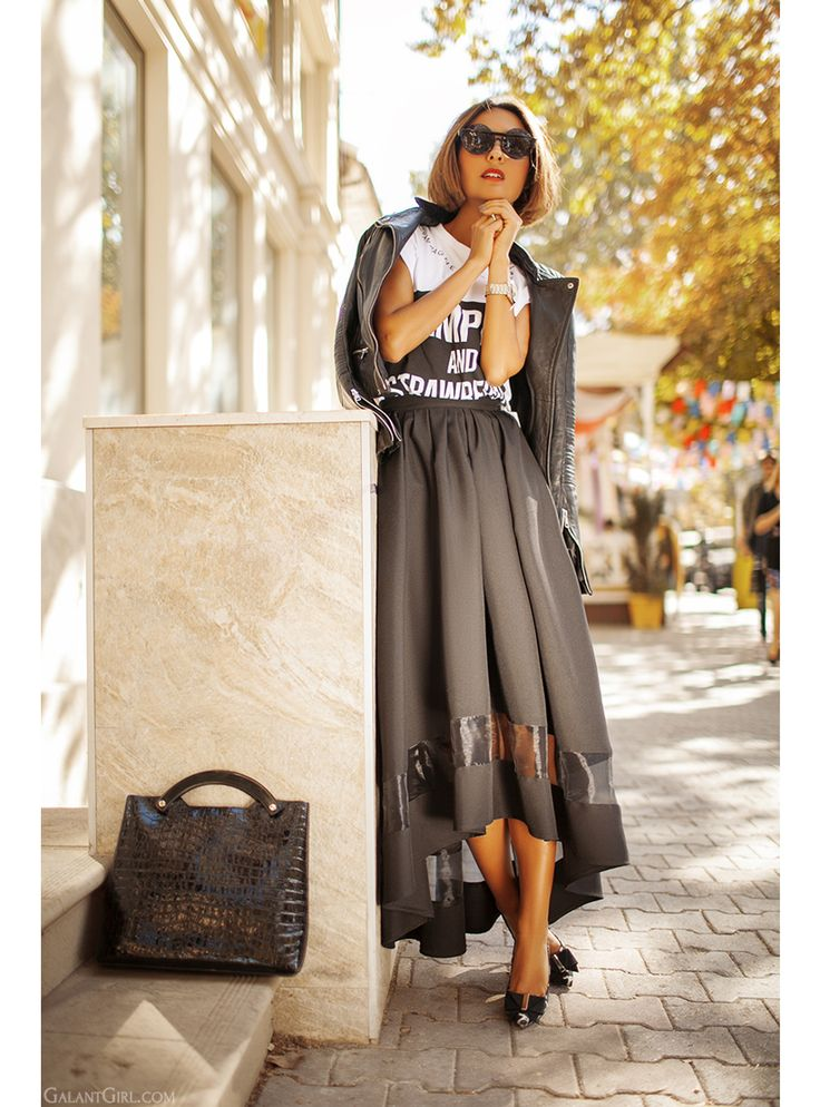 maxi skirt for everyday style on GalantGirl.com