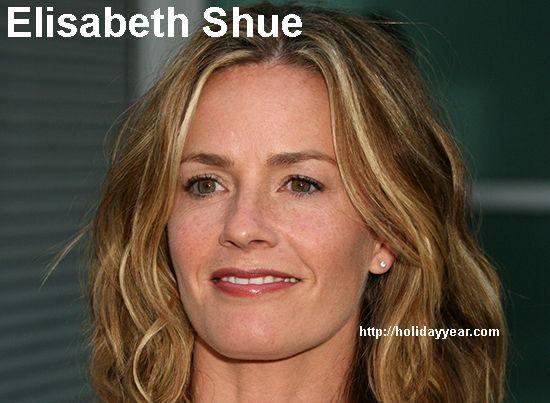 Oct 6 - Elisabeth Shue, American film actress was Born Today. For more famous birthdays http://holidayyear.com/birthdays/