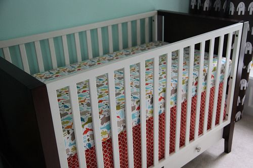 how to make bassinet fitted sheet pattern