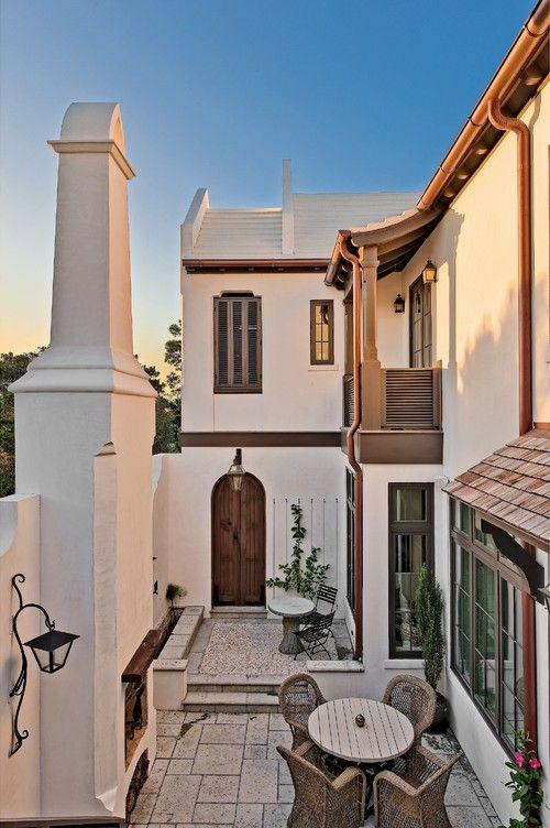 Alys Beach courtyard house, FL. T.S. Adams Studio, Architects, Atlanta.