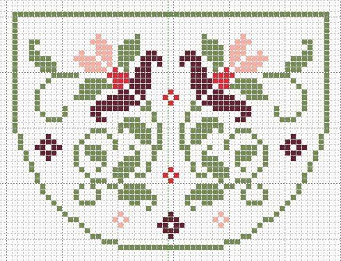 Patroon tasje 1915 (patroon zelf uitgewerkt vanaf foto)