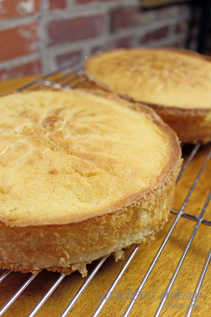 Gretchen's Bakery Butter Yellow Cake Recipe: great taste & moist