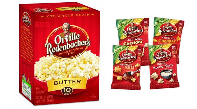 coupon rabais Pop-corn Orville Redenbacher