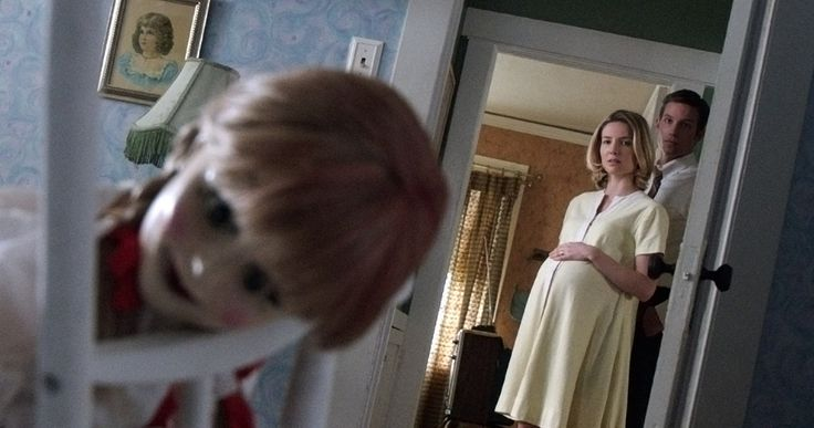 Second 'Annabelle' Trailer Reveals 'The Conjuring' Doll's Origins -- Annabelle Wallis and Ward Horton star as a young couple tormented by 'The Conjuring' doll in the horror spin-off 'Annabelle', in theaters this October. -- http://www.movieweb.com/news/second-annabelle-trailer-reveals-the-conjuring-dolls-origins