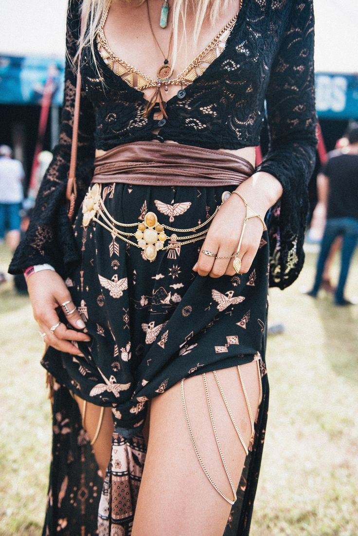 Boho Look | Bohemian hippie chic bohème vibe gypsy fashion indie folk the 70s festival style Coachella fashion Bluesfest 2016 Festival Style | Spell & The Gypsy Collective
