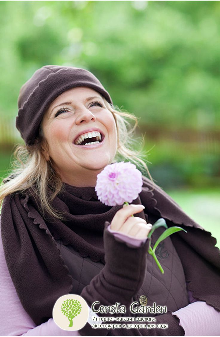 Комплект флисовый GardenGirl. Теплый уютный комплект из флиса – шапка, шарф и перчатки без пальчиков - станет прекрасным дополнением к курткам и жилету GardenGirl.