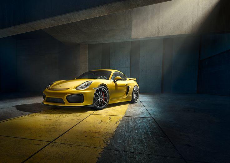 Porsche reveals the new Rebel Cayman GT4.Worldwide Advertising, Print and Web.