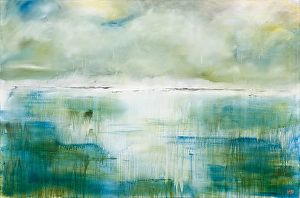 First Light by Patricia Gray Acrylic on canvas ~ 48 x 72 in.