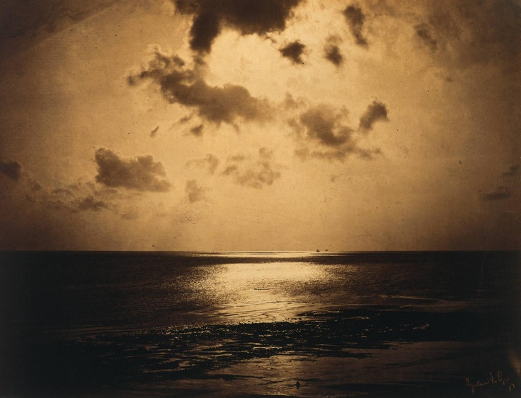 Another stunning photograph by the pioneering French photographer Gustave le Gray (1820-1884).