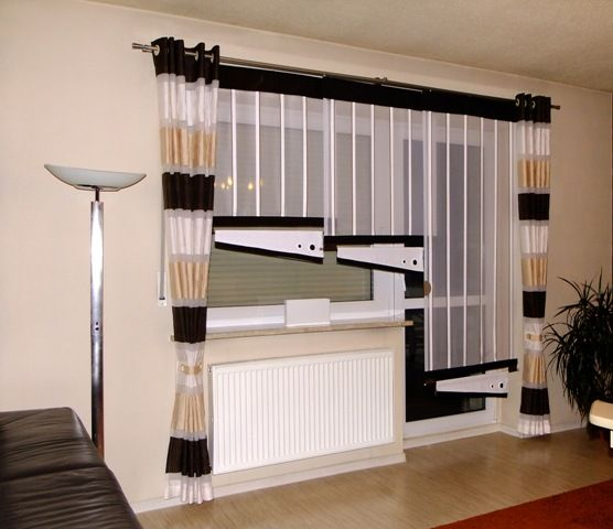 Para la sala | Cortinas,cenefas y drapeados | Pinterest | Wall curtains, Living room ideas and ...