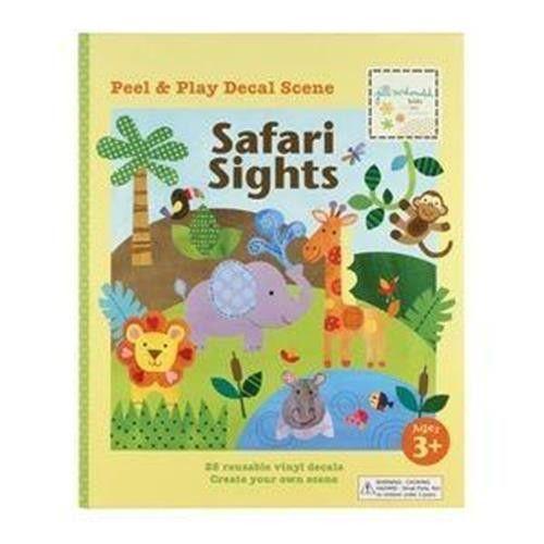 Children's Safari Sights Peel & Play Decal Scene by Jill McDonald Kids