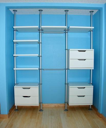 Amazing Closet organizers IKEA Design