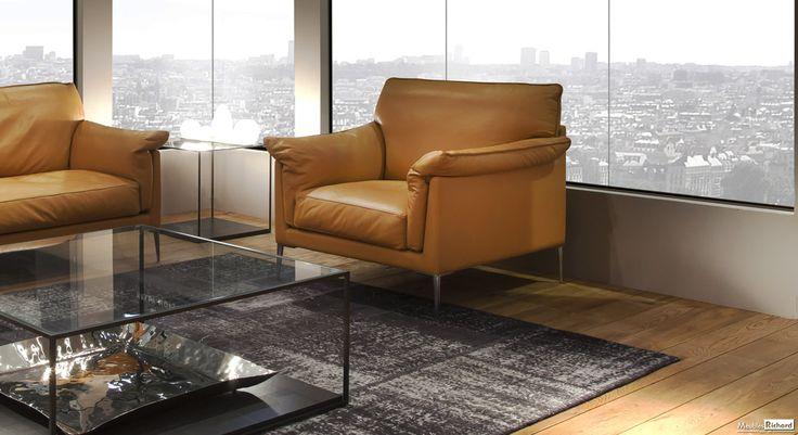 Canapes Duvivier - Cuir - Magasin de meubles