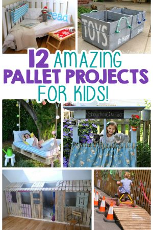 12 Amazing Pallet Projects For Kids