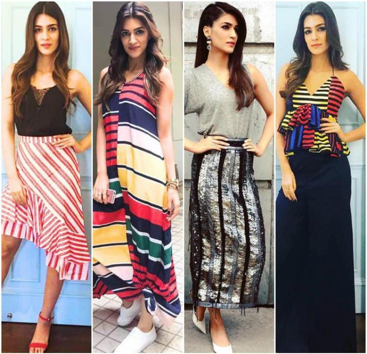 Kriti Sanon shows us 7 intuitive and new ways to wear stripes