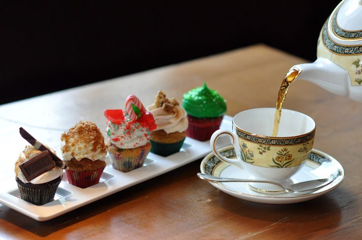 #cupcake for #tea #time... #color #muffin #good