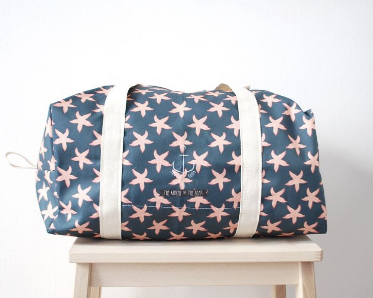 Sea star duffle bag by The Mochi & The Bear