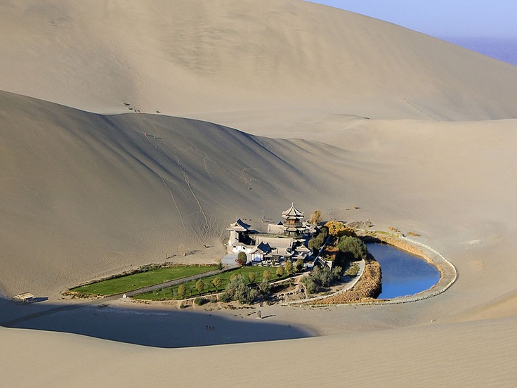 Along the Silk Road, Dunhua, Gansu Province, China