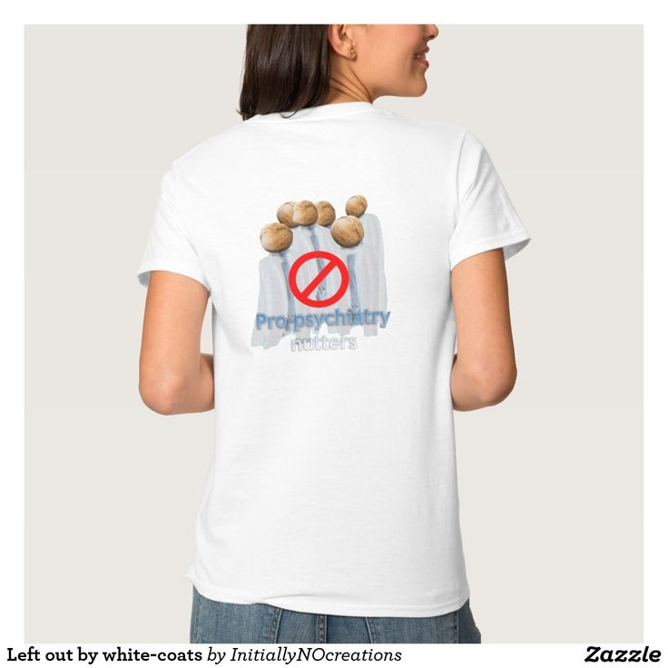 Left out by white-coats t shirt