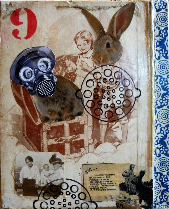 """""""Every Rabbit Survived"""" by Robyn Dansie. Paintings for Sale. Bluethumb - Online Art Gallery"""