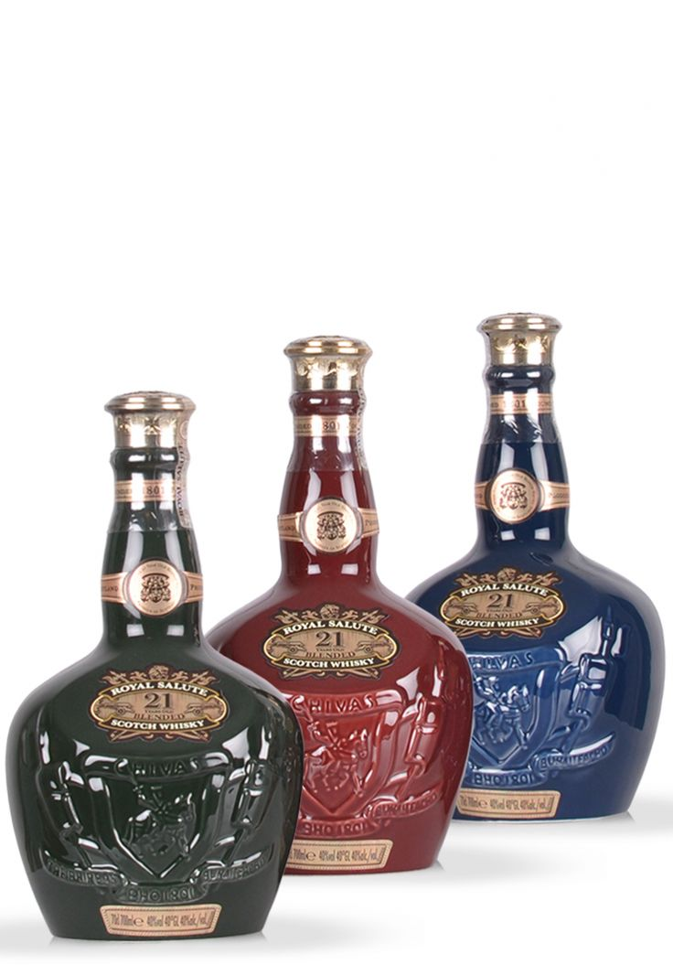 Whisky Chivas Royal Salute, 21 ani, Blended Scotch, The Emerald Flagon (0.7L) - SmartDrinks.ro