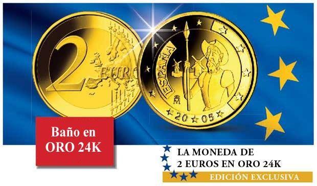 LA COLECCIÓN DE LAS MONEDAS DE 2 EUROS EN ORO 24K    Tan sólo existen 500 colecciones completas