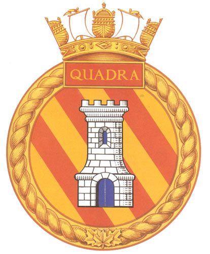 HMCS QUADRA Badge - The Canadian Navy - ReadyAyeReady.com