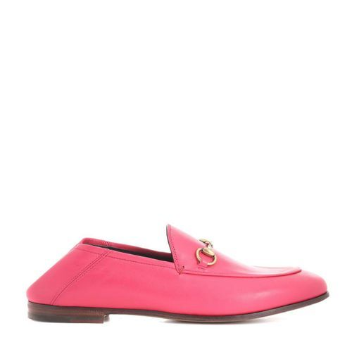 Mocassins rose vif, Gucci sur My Theresa, 550€.