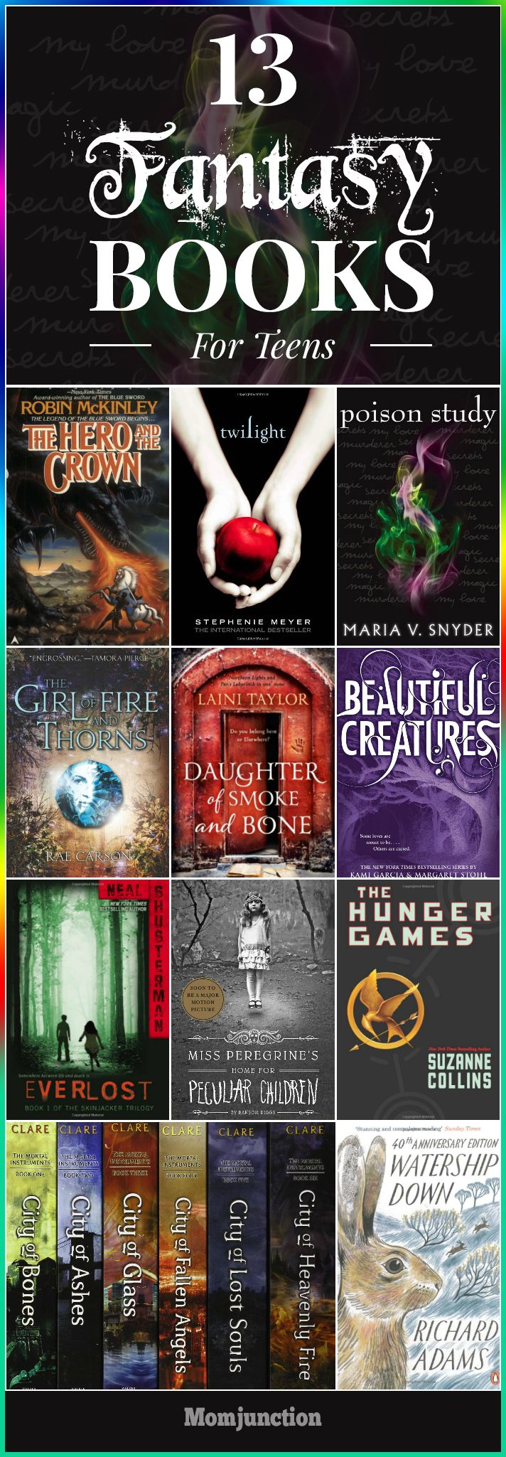 Superpowers, vampires, battles, and creatures. Yes, that's what you get to read in fantasy books for teens. Here's our collection of such fantasy books.