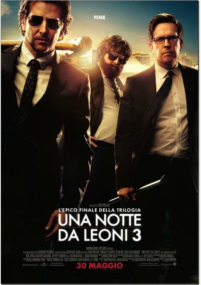 Una notte da leoni 3, dal 30 maggio al cinema.