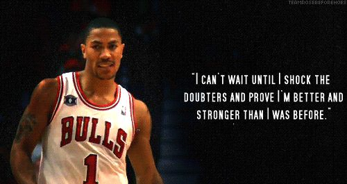 Good Basketball Quotes Derrick Rose | Derrick Rose Quotes About Basketball