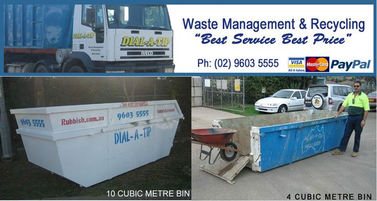 Dial-A-Tip is a well-established organization that provides waste management services to large and small premises. Our rubbish removal strategies are incredible and are available at competitive prices. You can avail our rubbish bins for hire, anywhere in Sydney and its suburbs.