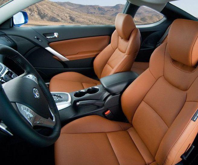 2017 Hyundai Genesis Coupe Interior
