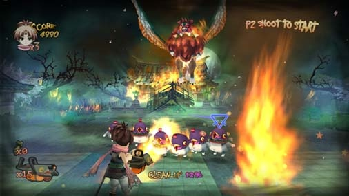 Zombie Panic in Wonderland - Wii