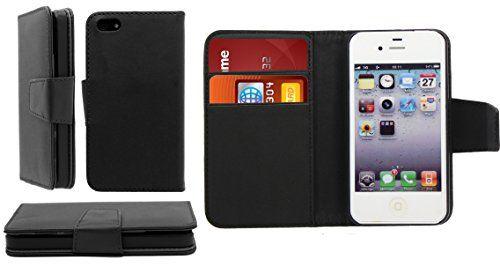 Calidad Premium Funda de piel sintética para iPhone 6, iPhone 6S, iPhone 6Plus, iPhone 6S Plus, iPhone 5, iPhone 5s, iPhone 5C, iPhone 4G, iPhone 4S. Todas las fundas vienen con una lápiz capacitivo y protector de pantalla., piel sintética, negro, iPhone 5/5S - http://www.tiendasmoviles.net/2016/08/calidad-premium-funda-de-piel-sintetica-para-iphone-6-iphone-6s-iphone-6-plus-iphone-6s-plus-iphone-5-iphone-5s-iphone-5-c-iphone-4-g-iphone-4s-todas-las-fundas-vienen-con