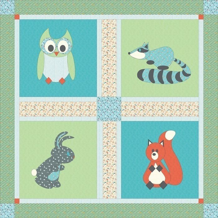 7 best Critter Patch Organic Baby Quilt Contest images on ... : quilt design tool - Adamdwight.com
