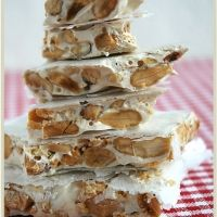 Maltese nougat - sugar, almonds, cinnamon. YUM