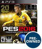 PES 2016: Pro Evolution Soccer - PRE-Owned - PlayStation 3, Multi