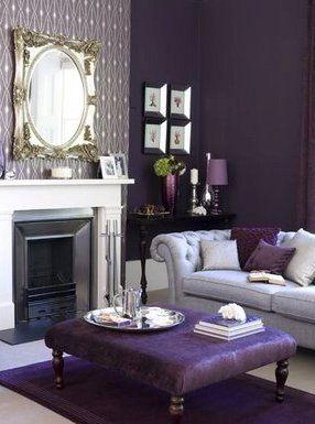 32 best living room ideas images on pinterest | purple living