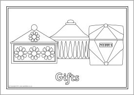 The 97 best Christmas Templates or Colouring images on Pinterest ...