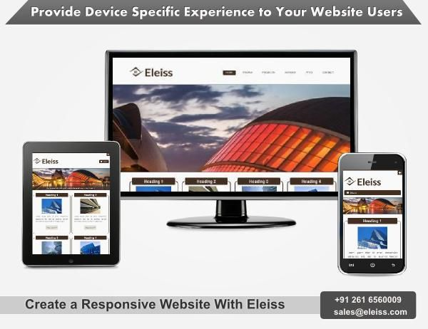 Contact us to have a look at our new ‪#‎responsive‬ ‪#‎website‬ range #eleiss template r049