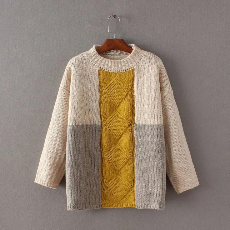 И Американский ветер модель подбора цвета цю дон твист круглый набор воротник головы утолщение версия большой свитер купить на AliExpress