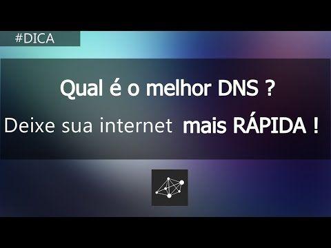 Qual é o Melhor DNS   Internet Mais Rápida - YouTube