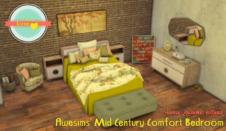Hello beautiful people! I'm really happy to say I've reached 1000+ followers!! I can't believe it, thank you all so much, you are amazing!!! To celebrate with you I've converted this amazing set from Awesims and also those must-have pillows I couldn't live w/o back in TS3.   NOTES     Chair has the same patterns as the awesims' bedspread I've uploaded before. Not all but most of them, it has all the plain colors though so you can mix'n'match!   Asian art painting recolors by me, images f...