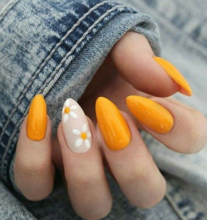 Yellow Nail Art Design – Prettiest And Stylish Summer Nail Designs   – Nails