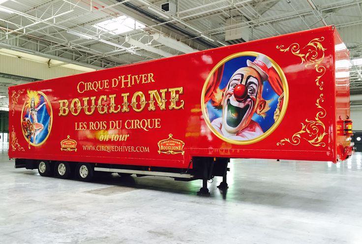 #marquage du véhicule Cirque d'hiver #Bouglione par #Megamark