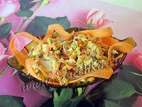 Грибной салат - фото